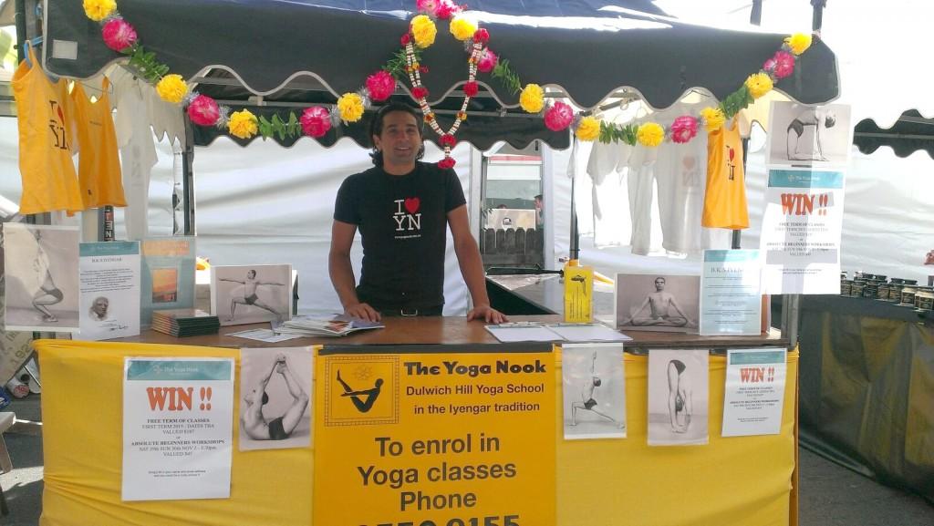 Yoga Nook Marrickville Festival Stall